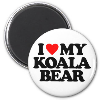 I LOVE MY KOALA BEAR REFRIGERATOR MAGNET