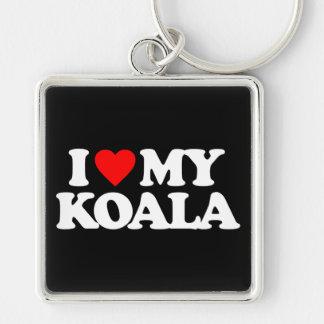I LOVE MY KOALA KEY CHAINS
