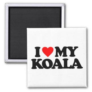 I LOVE MY KOALA MAGNET