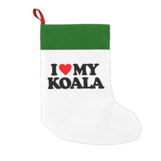 I LOVE MY KOALA SMALL CHRISTMAS STOCKING