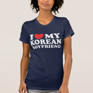 I Love My Korean Boyfriend Shirts