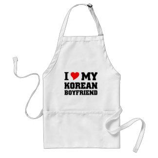 I love my Korean Boyfriend Standard Apron