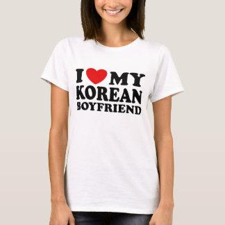 I Love My Korean Boyfriend T-Shirt