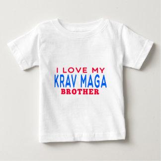 I Love My Krav Maga Brother T Shirt