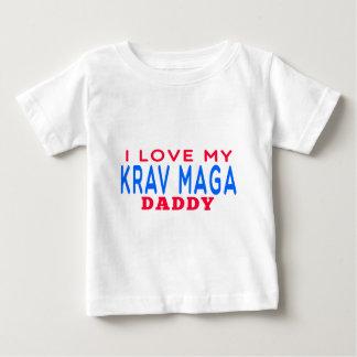 I Love My Krav Maga Daddy Baby T-Shirt