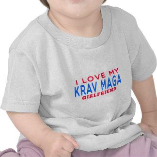 I Love My Krav Maga Girlfriend Tee Shirt