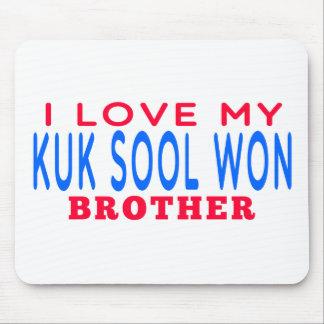 I Love My Kuk Sool Won Brother Mouse Pad