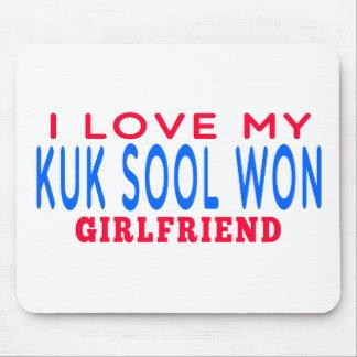 I Love My Kuk Sool Won Girlfriend Mouse Pads