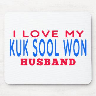 I Love My Kuk Sool Won Husband Mouse Pad