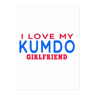 I Love My Kumdo Girlfriend Post Card