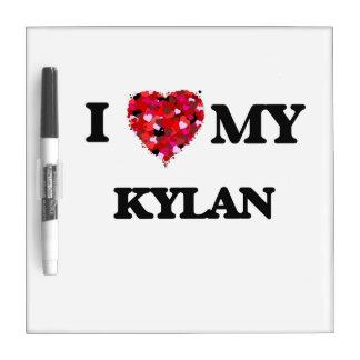 I love my Kylan Dry Erase White Board