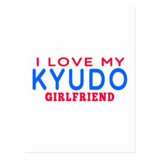 I Love My Kyudo Girlfriend Post Cards