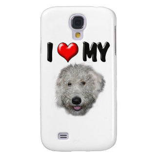 I Love My Labradoodle Galaxy S4 Case