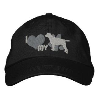 I Love my Labrador Retriever Embroidered Hat