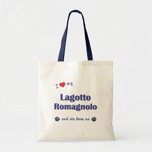 I Love My Lagotto Romagnolo (Female Dog) Bags