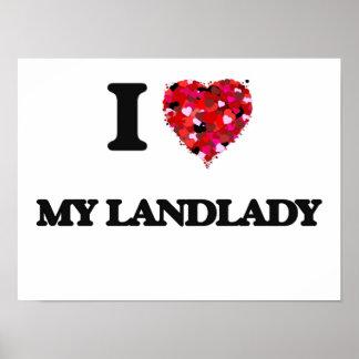 I Love My Landlady Poster