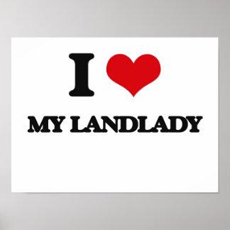 I Love My Landlady Posters