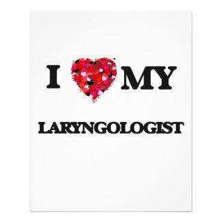 I love my Laryngologist 11.5 Cm X 14 Cm Flyer