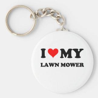 I Love My Lawn Mower Key Chains