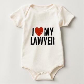 I Love My Lawyer Baby Bodysuit