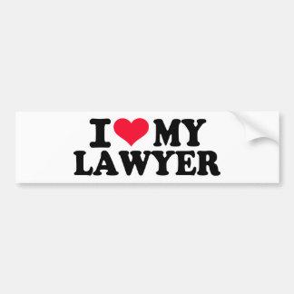 I love my Lawyer Bumper Stickers