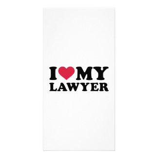 I love my Lawyer Customized Photo Card