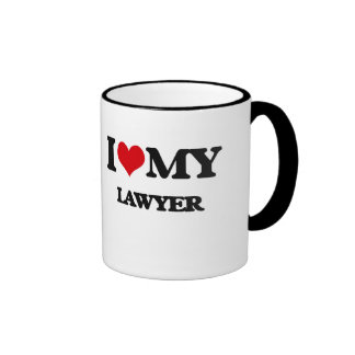 I love my Lawyer Ringer Mug