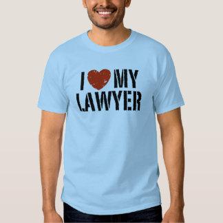 I Love My Lawyer Shirts
