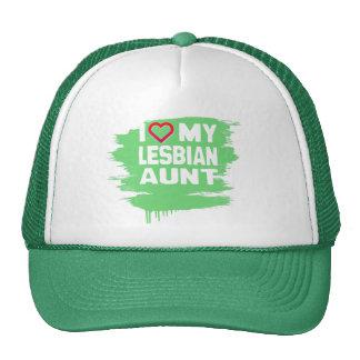 I LOVE MY LESBIAN AUNT - -.png Mesh Hats