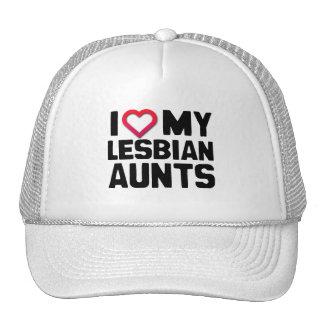 I LOVE MY LESBIAN AUNTS MESH HATS
