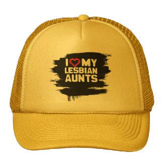 I LOVE MY LESBIAN AUNTS CAP