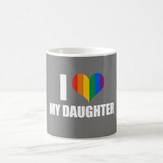 I LOVE MY LESBIAN DAUGHTER - .png Basic White Mug