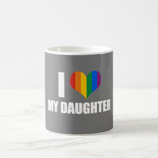 I LOVE MY LESBIAN DAUGHTER - .png Coffee Mug