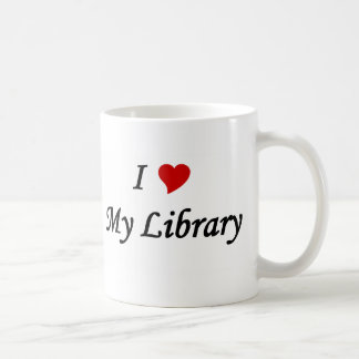 I love my library coffee mug