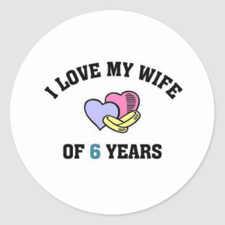 I love my life of 6 years stickers