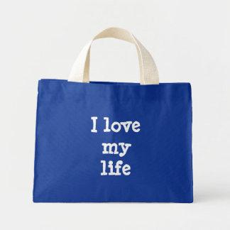 I love my life mini tote bag