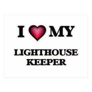 I love my Lighthouse Keeper Postcard