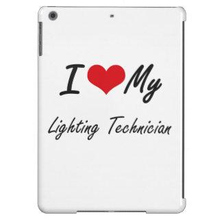I love my Lighting Technician Cover For iPad Air