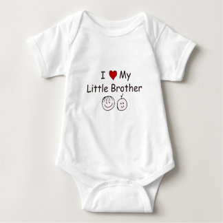 I Love My Little Brother! Baby Bodysuit
