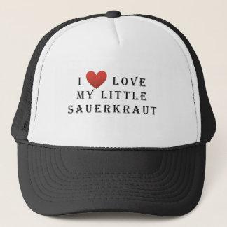 I love my Little Sauerkraut Trucker Hat