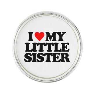 I LOVE MY LITTLE SISTER LAPEL PIN
