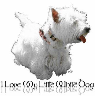I Love My Little White Dog - Westie Photo Sculptures