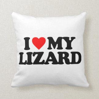 I LOVE MY LIZARD CUSHION