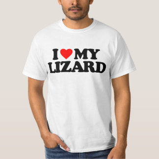 I LOVE MY LIZARD T-Shirt