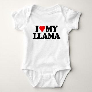 I LOVE MY LLAMA BABY BODYSUIT