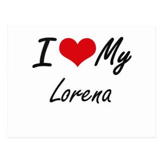 I love my Lorena Postcard