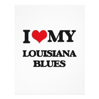 I Love My LOUISIANA BLUES Custom Flyer