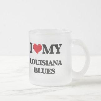 I Love My LOUISIANA BLUES Coffee Mugs