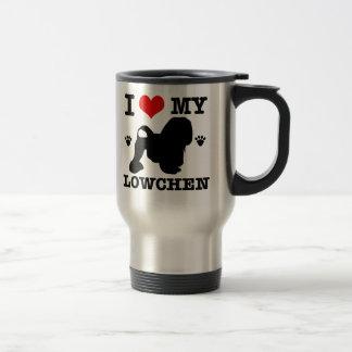 I Love my Lowchen Stainless Steel Travel Mug