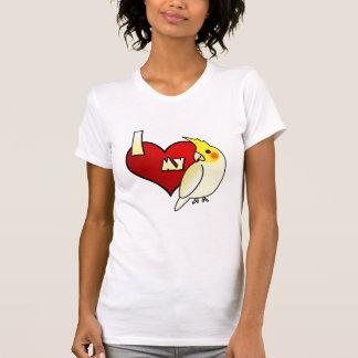 I Love my Lutino Cockatiel T-Shirt